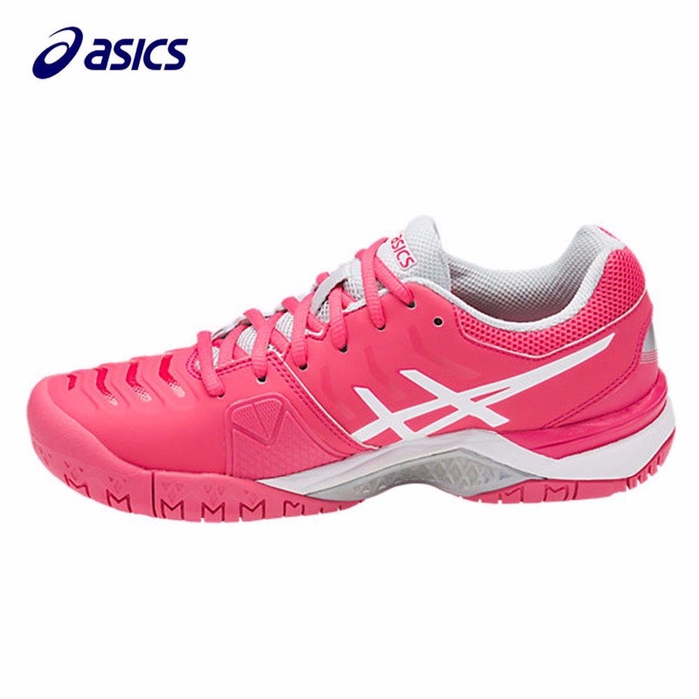 Orginal ASICS  New Women Running Shoes  Breathable Stable Shoes outdoor Tennis shoes classic Leisure Non-slip E753Y-1901