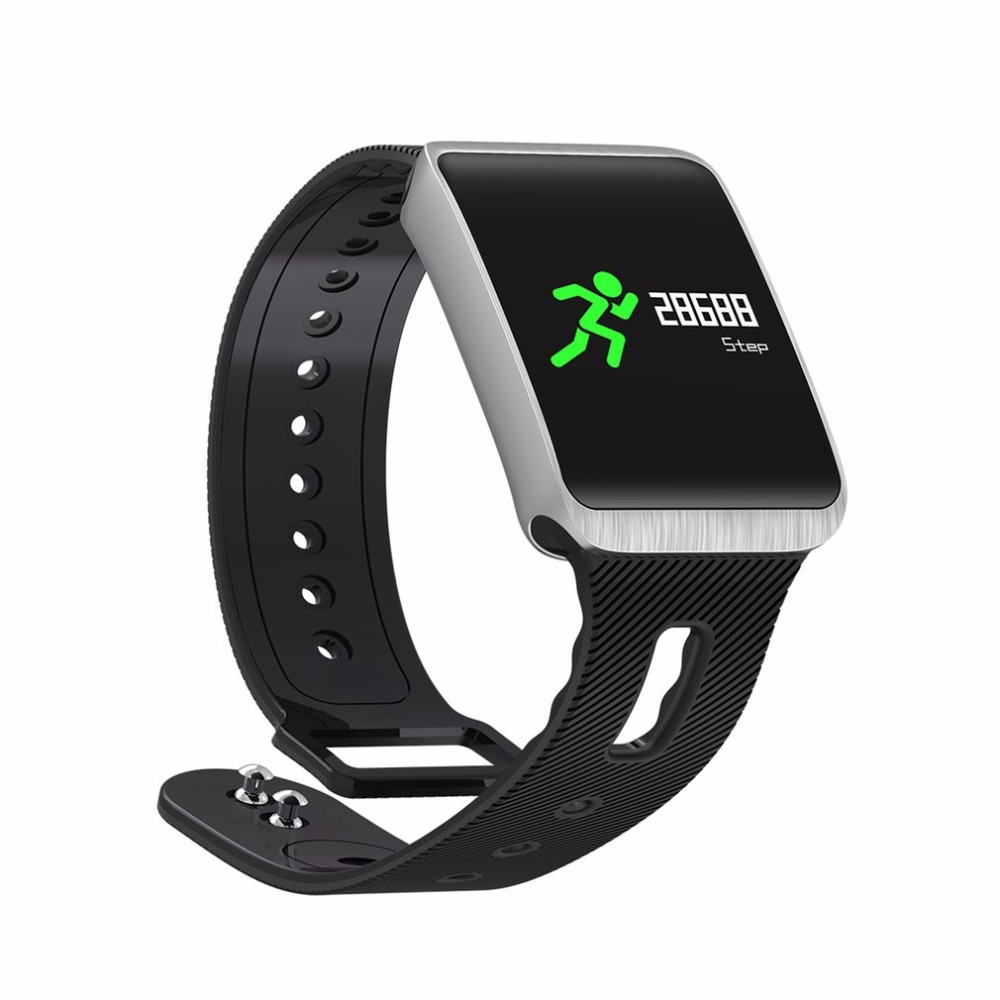 TF1 Bluetooth 4 0 Smart Watch For iOS / Android Phones Nordic 52832 Chip  IP68 Waterproof Heart Rate / Blood Pressure