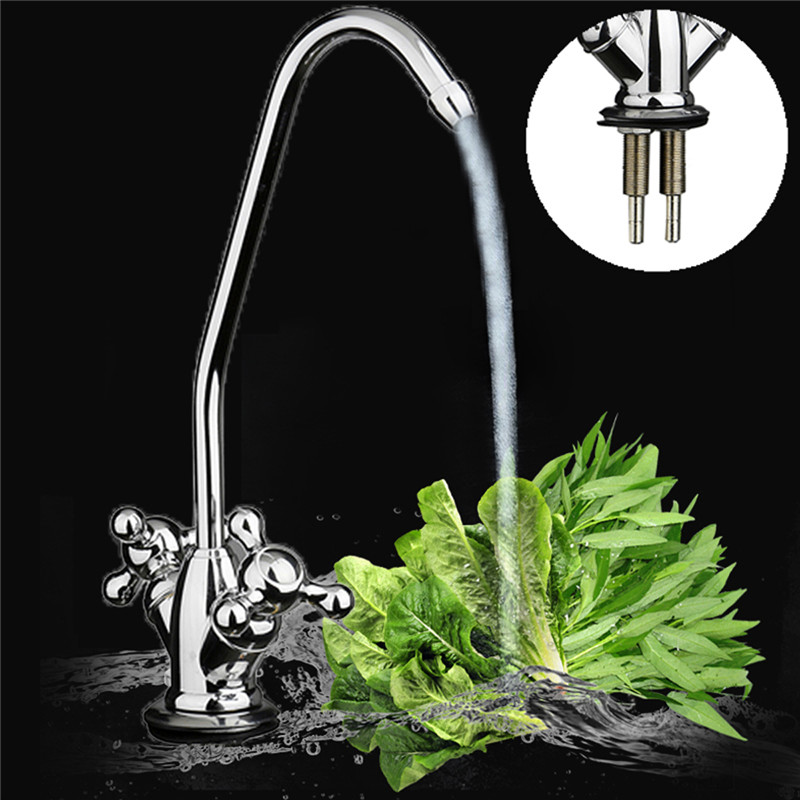 Xueqin Chrome Drinking Water Filter Faucet Finish Reverse Osmosis Sink Kitchen Faucet Approx 220mm x 56mm