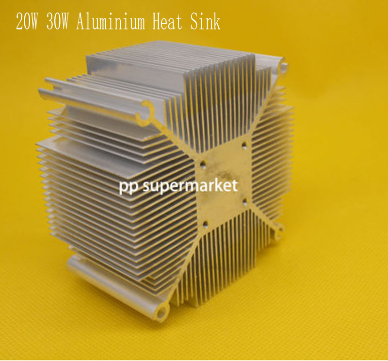 Aluminium Heat Sink For 20w 30w 50w 100w High Power Cob