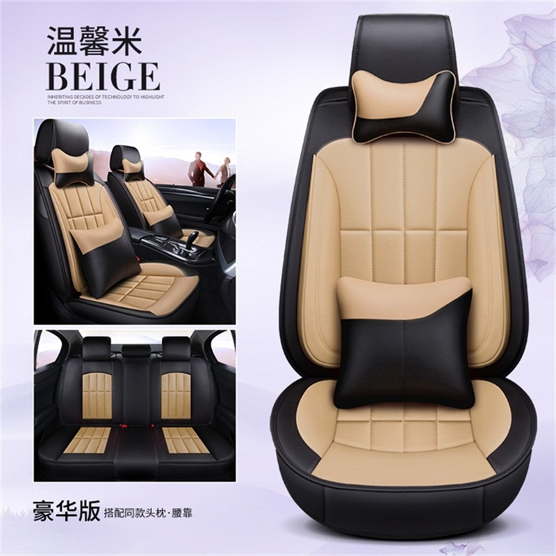 Universal PU leather high-grade wear-resistant car for lada XRAY granta kalina largus priora samara vesta 2107 2110 2114 2018