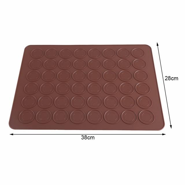 48 Holes Silicone Macaron Mat