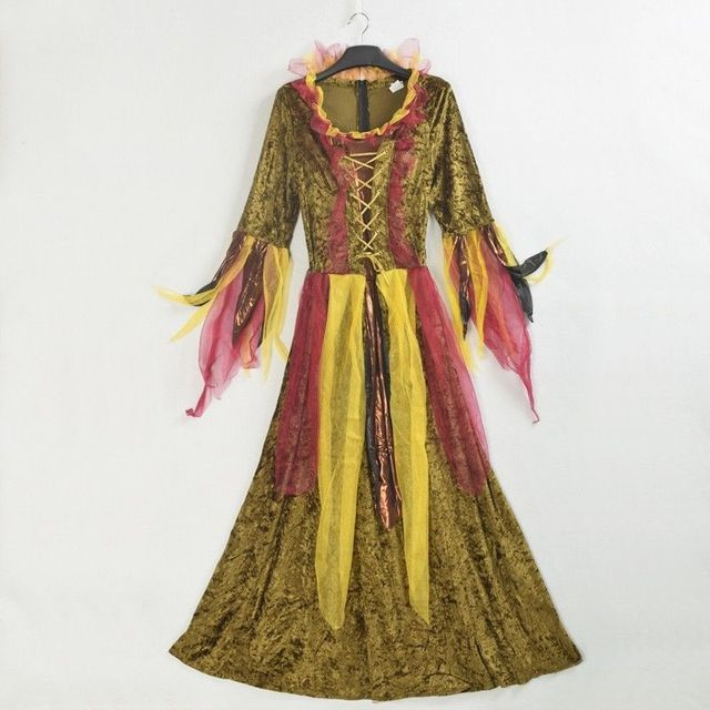 Women Fairy Dress Princess Vintage Medieval Renaissance Gowns ...