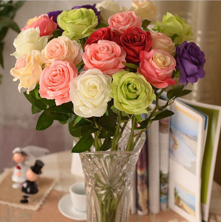 Rose Flower Wedding Table: Aliexpress.com : Buy 2015 New Artificial Fake Silk Circle