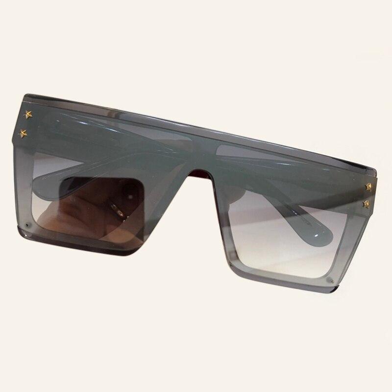 no 3 no Große Rahmen Übergroßen No Frauen 1 2 4 no Big Männer no Vintage Transparent 6 no 5 Sonnenbrille Shades Größe Fq6xAZ