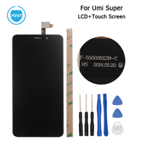 HYYT For UMI Super LCD Display Touch Screen Original For UMI Super Euro 5 5 Inch