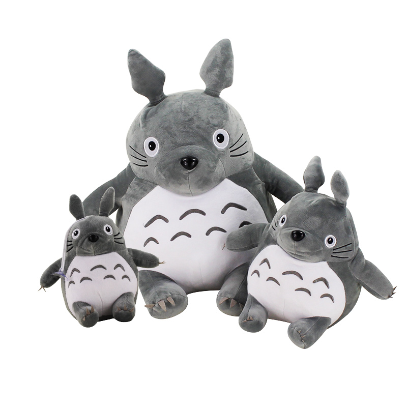 3styles New Arrival My Neighbor Totoro Plush Toys Anime Stuffed Famous Cartoon Soft Doll Toys Best