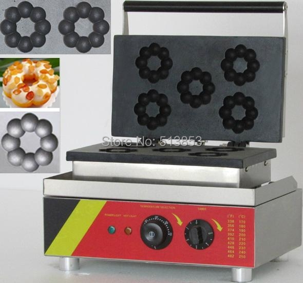 Free Shipping, CE Blossom Donut Making Machine, Donut Maker, Doughnut Maker Machine, CE Certificat donut making frying machine with electric motor free shipping to us canada europe