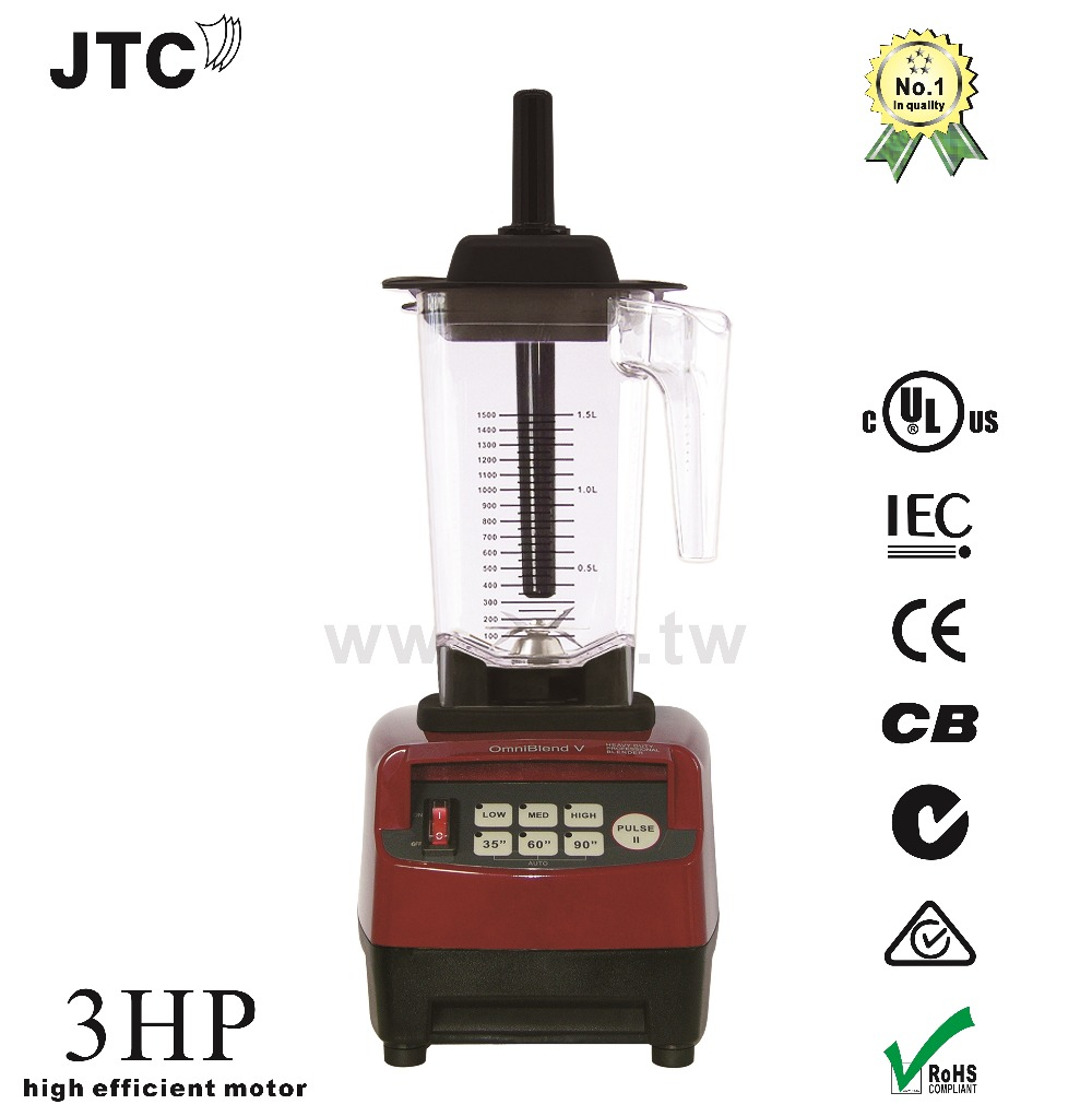 FREE SHIPPING JTC Super blender with PC jar, Model:TM-788A, Grey, 100% GUARANTEED NO. 1 QUALITY IN THE WORLD.