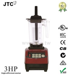 FREE SHIPPING JTC Super blender with PC jar, Model:TM-800A, Black, 100% GUARANTEED NO. 1 QUALITY IN THE WORLD.