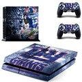 НФЛ New York Giants PS4 Наклейку Кожи Наклейка Виниловая Наклейка Для Sony PS4 Playstation 4 Консоль И 2 Контроллер Наклейки