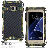 Brand Luxury Doom Armor Dirt Shock Metal Aluminum Cell Phone Case For Samsung Galaxy S7 S7
