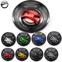 FUEL TANK CAPS For DUCATI PANIGALE V4 / S Streetfighter /S 848 SCRAMBLER-All Models Monster 1100 09-13