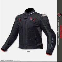 Komine jk 063 Топ titanium Сплав гонки мотоцикл сервис Авто ездить куртка популярных марок одежды