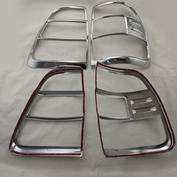 Chrome Styling Tail Light Cover for Toyota Land Cruiser FJ100 2006-2009