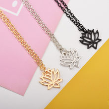 HOT Wolf Head Shape Alloy pendants necklaces gold sliver for 2018 women girl necklaces Jewelry gift 6#1810012510(China)