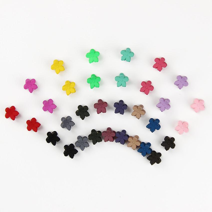 HTB1q3_LOXXXXXaLXpXXq6xXFXXXb Cute Girls Multicolored Small Flowers Fashion Clip Clamps - 16 Colors