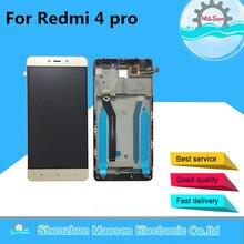 M & Sen для 5.0 «Xiaomi Redmi 4 Pro Redmi 4 Премьер ROM-32G ЖК-дисплей экран + сенсорный дигитайзер с рамка Бесплатная доставка
