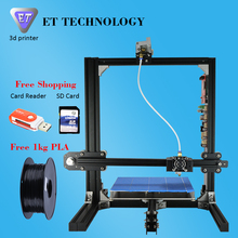 King of All Reprap Prusa i3 Full Metal 3D Printer DIY Kit Easy Assembling Optional Dual Extruder Touch Screen Free Shipping