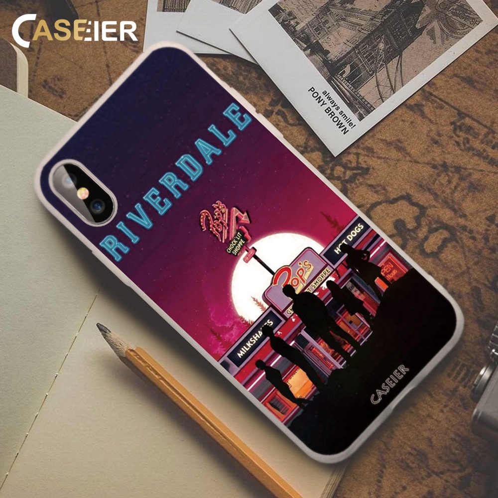 CASEIER Phone Case For Huawei P20 P10 Lite P Smart Plus Riverdale Case For Huawei Mate 10 20 lite Pro Honor 8X 7A 7C 10 9 Lite