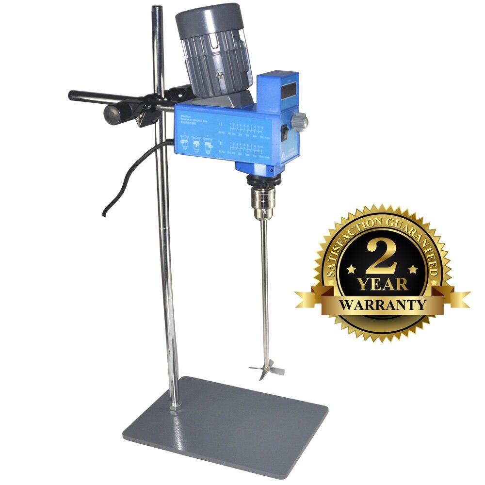 Laboratório Scientific Overhead Agitador de Laboratório Digital Industrial Elétrica Misturador de Líquidos 20L para Média viscosidade
