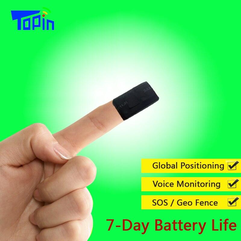 Nouveau T3 Mini GPS Tracker SOS les Appels en temps Réel de Suivi Web APP Voix Moniteur MTK6261 + Ublox7020 pour Enfants Pet Véhicule Localisateur De Voiture