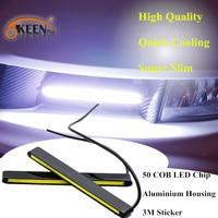 DRL Front Lamp LED Light 450LM COB Drl Daytime Running Light DC12V