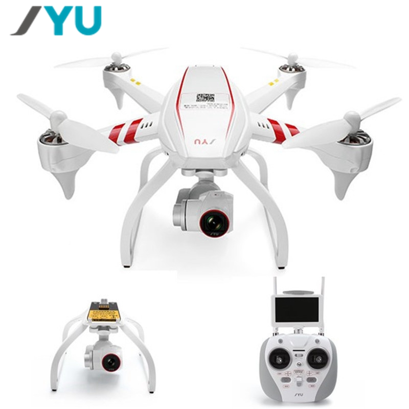 In Stock! JYU Hornet S HornetS Racing 5.8G FPV With Goggles & Gimbal 4K Camera GPS RC Drone Quadcopter VS Hubsan H109S H501S original jyu hornet s hornets spare parts gimbal module 4k camera gimbal landing skid for fpv racer drone rc quadcopter accs