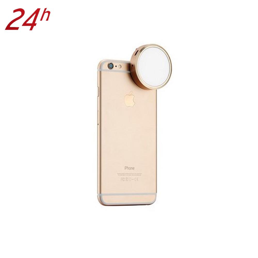 Hot YONGNUO YN06 Phone Flash Mini Smartphone Clip Selfie LED Flash Light Auto Flash Speedlite for iPhone 6s Plus Se 6 5s 4