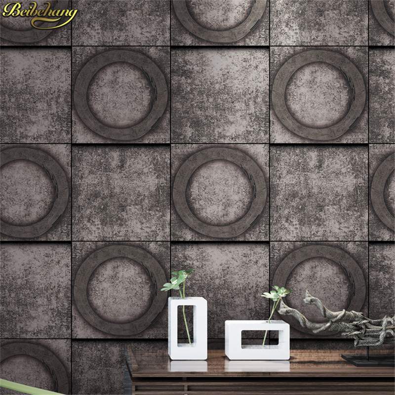 beibehang American Village Retro Wallpaper Bar Cafe Wall paper Aisle Gray Cement Pattern Old papel de parede Industrial Wind 3Dbeibehang American Village Retro Wallpaper Bar Cafe Wall paper Aisle Gray Cement Pattern Old papel de parede Industrial Wind 3D