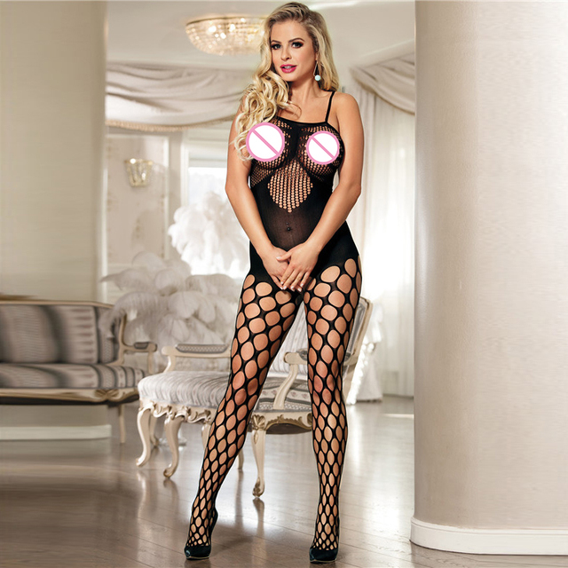 5a60b6ba2e1f Women Plus Size Sexy Lingerie Sex Net Stockings Big Size Babydolls Chemise  Nightgown Mujer sexy Temptation lingerie