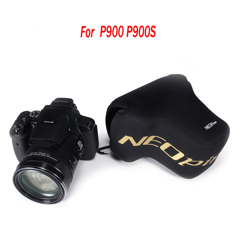 NEOPine Original Portable Neoprene Soft Waterproof Inner Camera Bag For Nikon P900s P900 Camera Case Cover Protective Pouch