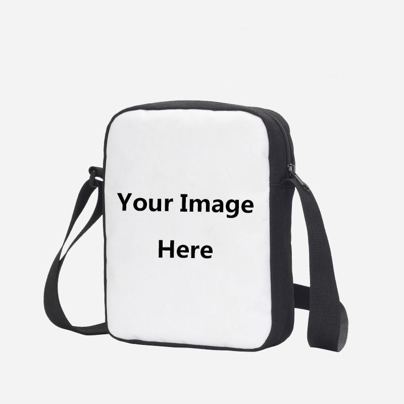 4de59453ef Hynes Eagle Custom Your Image Name Logo Messenger Bag Casual Crossbody Bags  Portable Shoulder Bags 3D Printing Handbags Present-in Crossbody Bags from  ...