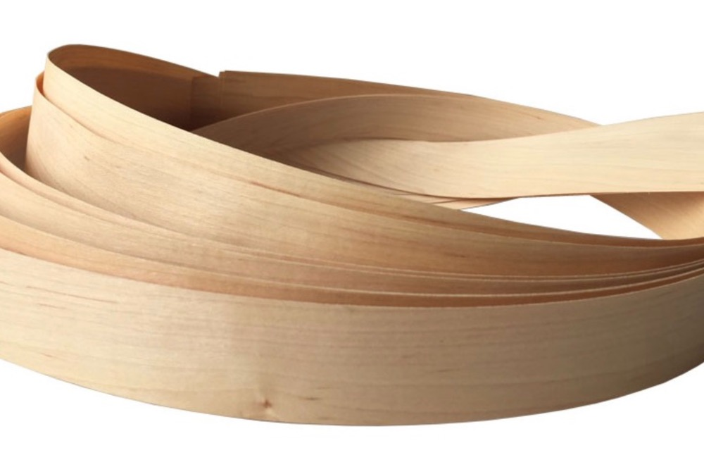 5pcs/lot L:2-2.5 Meters  Thickness:0.5mm  Width: 4cm   0.5mm Natural Maple Wood Edgeband Arrow Veneer