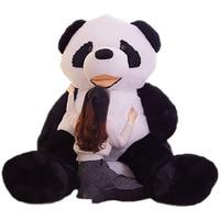 Fancytrader 102 ''крупнейших Огромный JUMBO плюшевые гигантская панда игрушка Отличный подарок на день рождения Валентина FT90905
