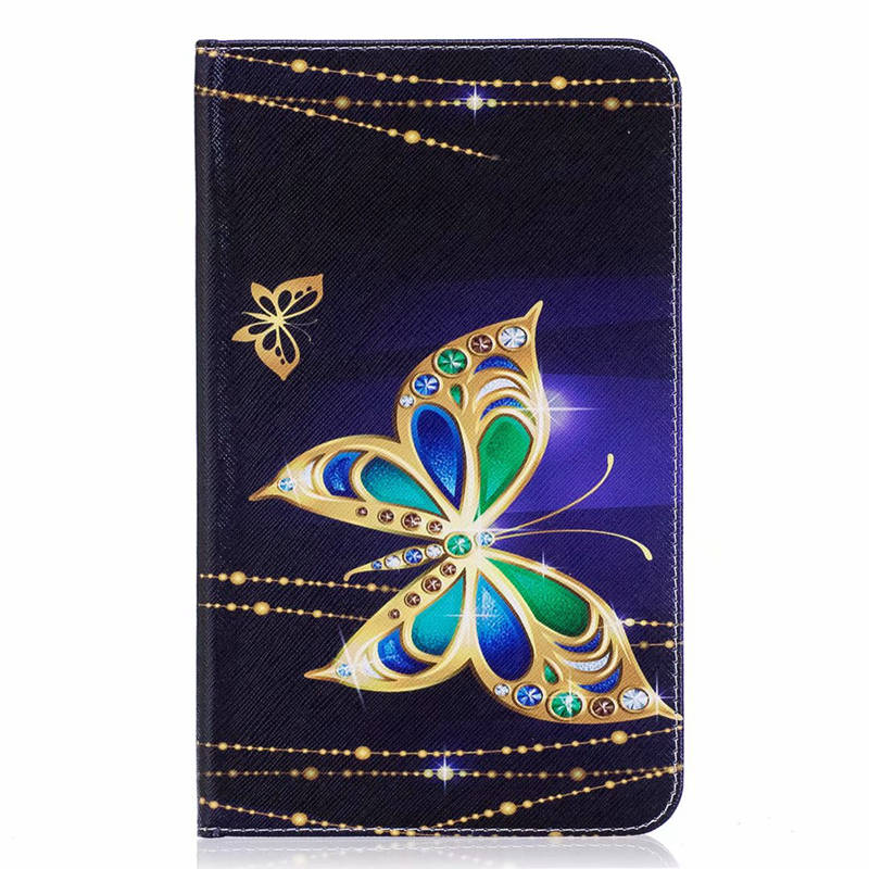 3D Fashion Printing TPU Leather Case For Samsung Galaxy Tab E 8.0 T377 SM-T377V T375smart Cover For Samsung Tabe 8.0 Tablet Case