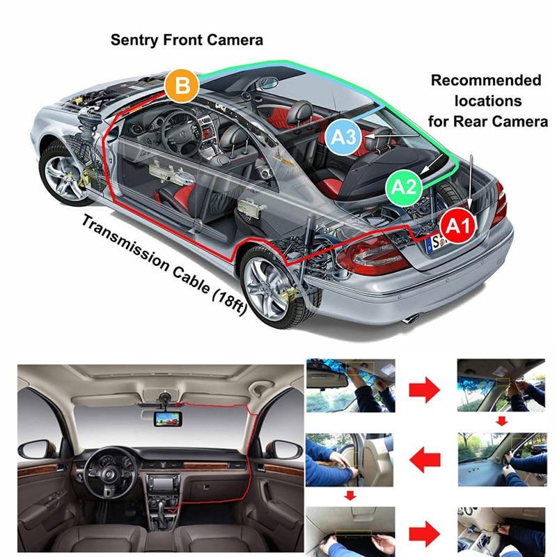 MIYAO Mini Vehicle Dash Cam Car DVR Camera Full HD 1080P Night Vision G sensor Parking Monitor Security Video Recorder Dashcam in DVR Dash Camera from Automobiles Motorcycles