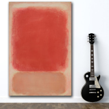Rothko Red and Pink on by Mark Classical Still Life Oil Painting Living Room Canvas Modern Pictures For Art No Frame