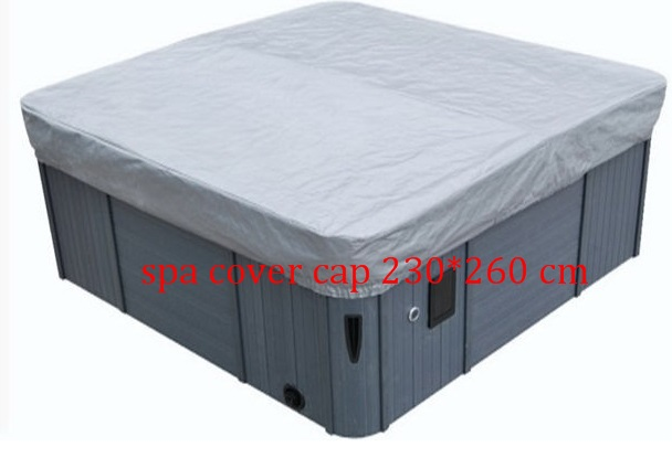 hot tub spa cover cap 230x260x30cm customize hot tub cover bag and spa cap size 244 x 244 x 30 5cm 8 ft x 5 ft x 12 inch any shape and size is avaliable