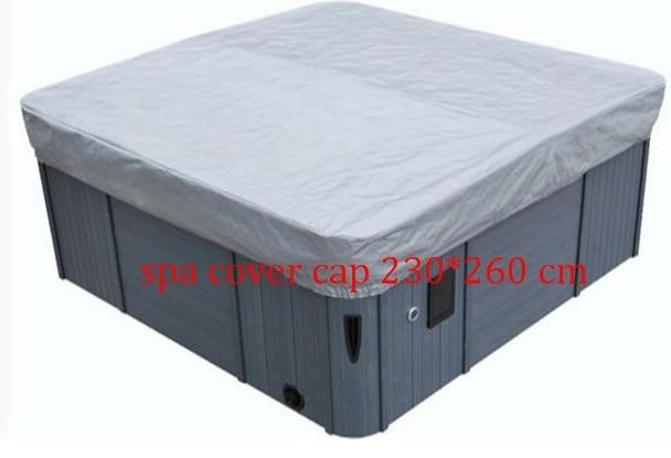 hot tub spa cover cap 230x260x30cm