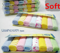 8pcs/lot Banho Bebe Baby Towel Baby Washcloth Saliva Baby Hooded Towel Nursing Towel For Boys And Girls Handkerchief