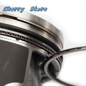 Image 5 - Yeni 06L 107 065 K motor Piston ve ATG yükseltme Piston halkaları kiti pimi 23mm VW Sharan Passat audi A4 A8 Q5 Q7 2.0TFSI 06H198151C