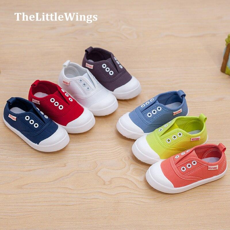 La moda de nueva niñas niños zapatos de lona alpargatas Súper suave y cómodo súper perfecta