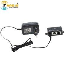 Однопортовый гигабитный Инжектор PoE с европейской вилкой 48 в 15 Вт для точки доступа