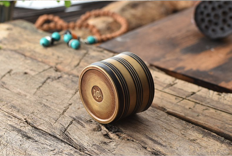 PINNY Brass Incense Burner Hand Warmer Stick Incense Tower IncenseCenser Sandalwood Metal Crafts Buddhist Temple Buddha in Incense Incense Burners from Home Garden