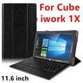 Case Для Cube iwork 1X Защитный Смарт обложка Protector Кожи Tablet PC Для iwork 1X ПУ Рукава 11.6 дюймов Случаи крышка