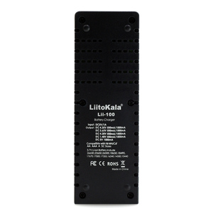 Image 3 - Liitokala Lii 100 1.2v 3.7v 3.2v 3.85v aa/aaa 18650 18350 26650 10440 14500 16340 25500 bateria de lítio nimh carregador inteligente