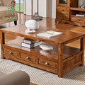 Camphor wood American country wood tea table