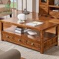 Mesa de chá em madeira madeira de cânfora madeira país da América