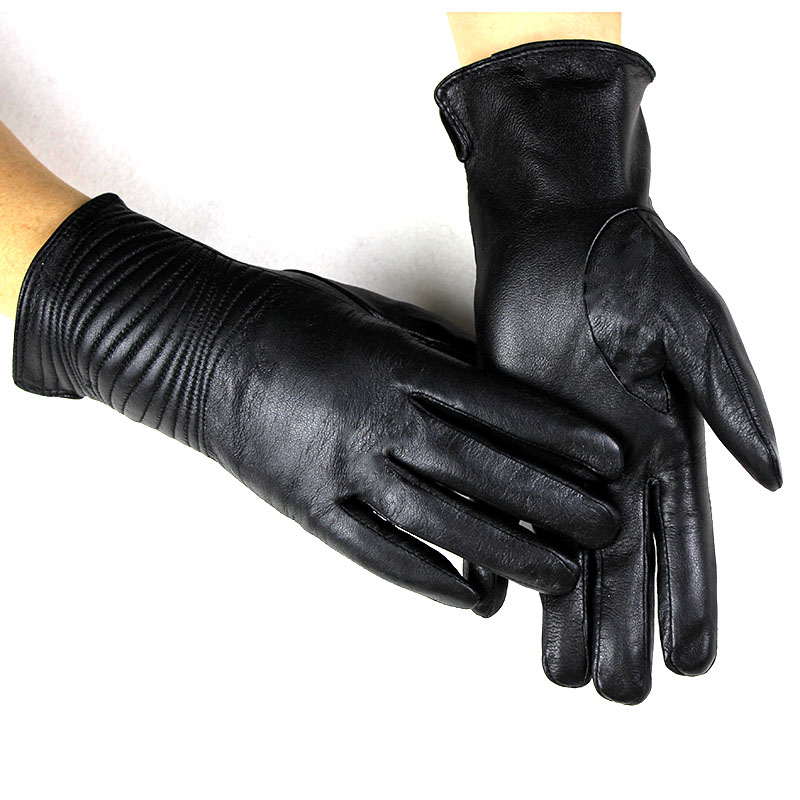 Youngate Mens Winter Autumn PU Faux Leather Touch Screen Gloves Driving Gloves